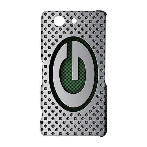 Green Bay Packers Custom Sony Xperia Z3 Compact Hardshell Case