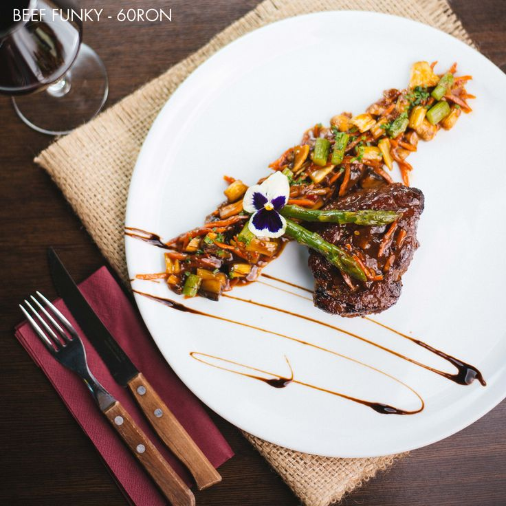 Funky Beef - Grilled Beef Sirloin with Soy sauce and ginger
