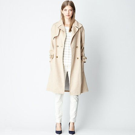 ++ edouard trench coat