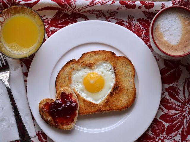 Starten wir mit einem guten Frühstück in den Tag. Was gibt es?