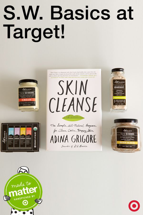Meet @swbasics founder Adina Grigore and fall in love with her natural skincare philosophy and products! Bonus, she also shared two recipes—a green facial cleanser and a toning facial spritzer.