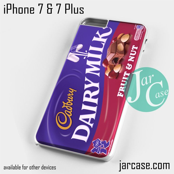Cadbury Dairy Milk Fruit and Nut 2 Phone case for iPhone 7 and 7 Plus