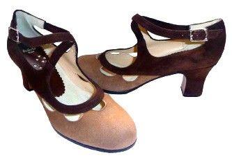 Professional flamenco shoes - Celia shoes