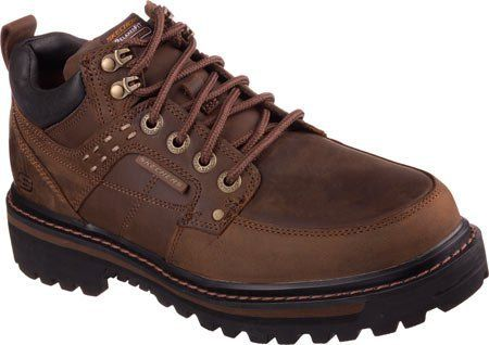 Skechers Men's Relaxed Fit Mariners Vitor,Dark Brown,US 10.5 M - http://authenticboots.com/skechers-mens-relaxed-fit-mariners-vitordark-brownus-10-5-m/
