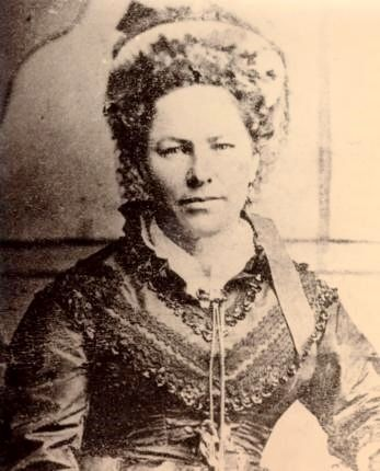 Charlotte Bursill 1857. married Edward Bayliss. Mother of Lottie Stockdale.