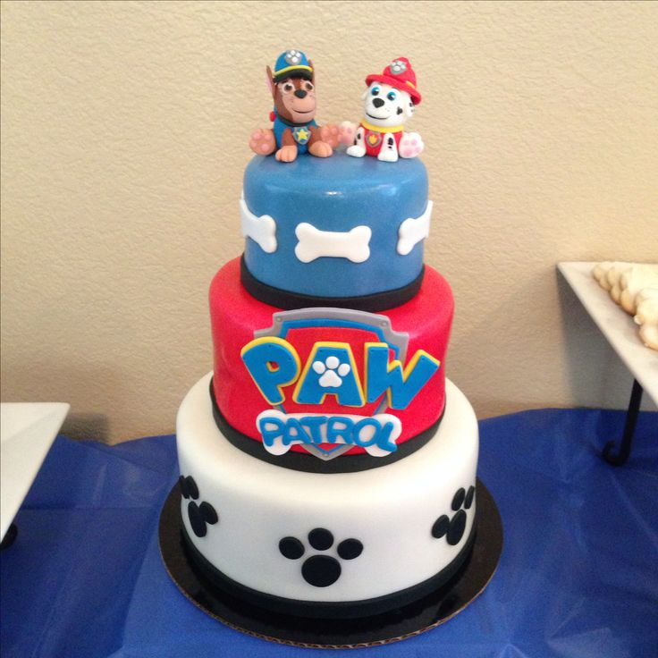 Paw patrol cake by Amber's Little Cupcakery
