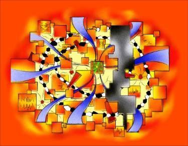 Deselia V3 - abstract digital artwork