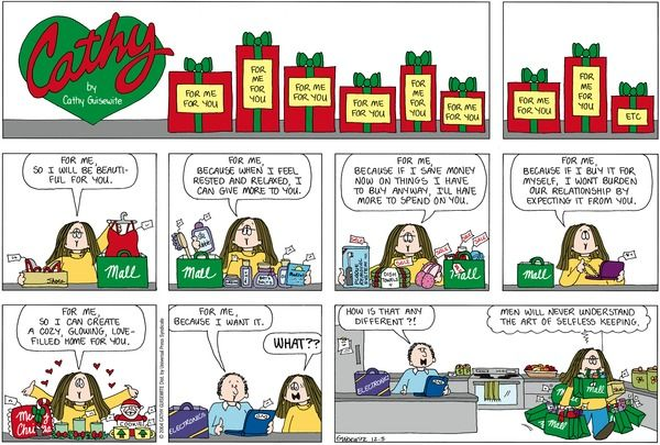 Cathy comic strip for your website