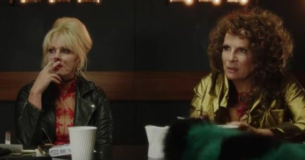 Gorgeous! The official Absolutely Fabulous trailer is here