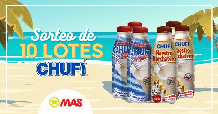 Sorteo de 10 lotes Chufi con @Supermercadomas! ¡Participa en nuestro juego! #Promo #Sorteo