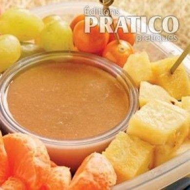 Fruits en trempette, sauce à l'érable - Recettes - Cuisine et nutrition - Pratico Pratique