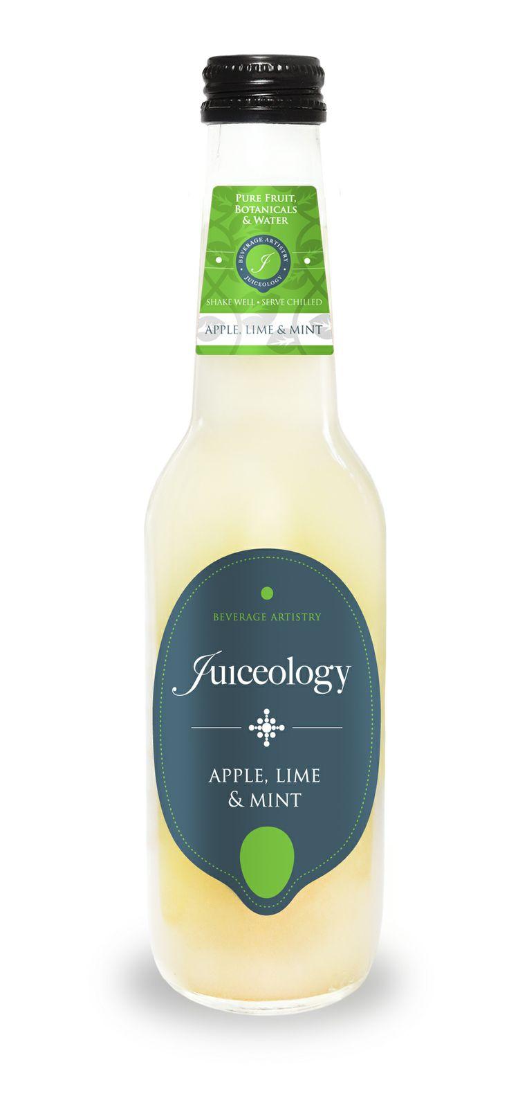 Juiceology äpple, lime och mynta är god till en måltid men även perfekt för att blanda en lyxig cocktail. Vad sägs om en Mojito? Läs mer på: http://beriksson.net/vara-varumarken/juiceology #juice #drycker #gourmet #naturligt #mojito #mixologi #cocktails #drinkar #juiceology