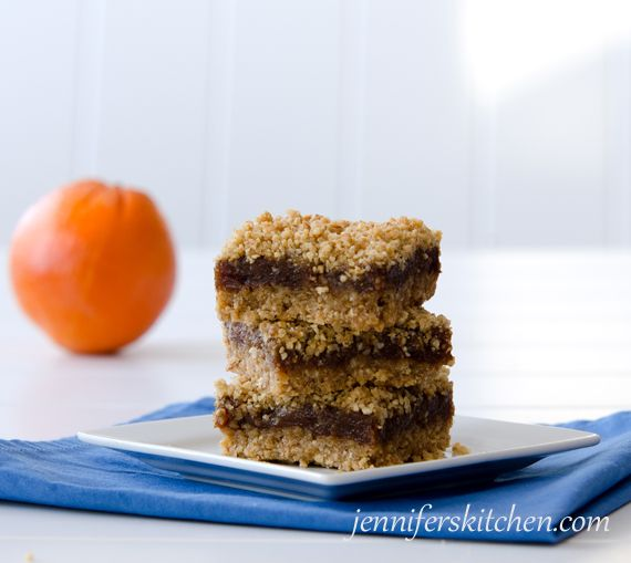 Gluten-Free Christmas Orange Date Bars. With wholesome ingredients ...