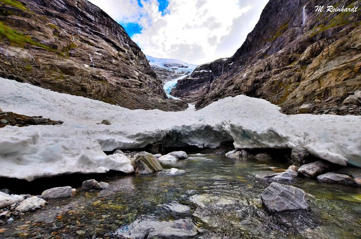 Kjenndalsbreen & Bødalsbreen glacier