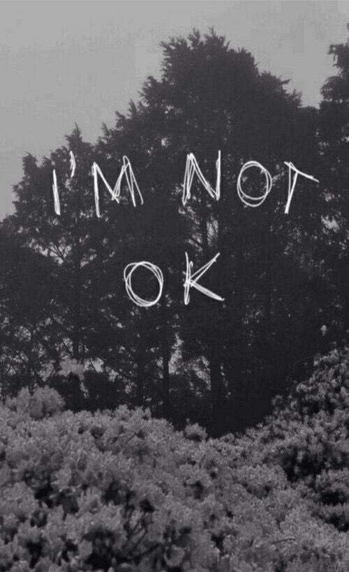 Não estou bem
