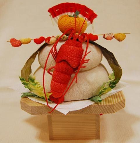 鏡餅:関東風