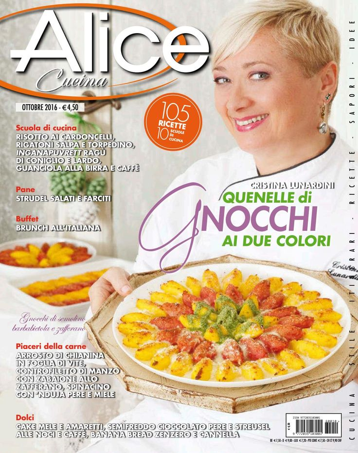 Alice cucina ottobre 2016 mar