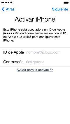 Bloqueo de activación de Buscar mi iPhone: Cómo eliminar un dispositivo de la cuenta de un propietario anterior - Soporte técnico de Apple