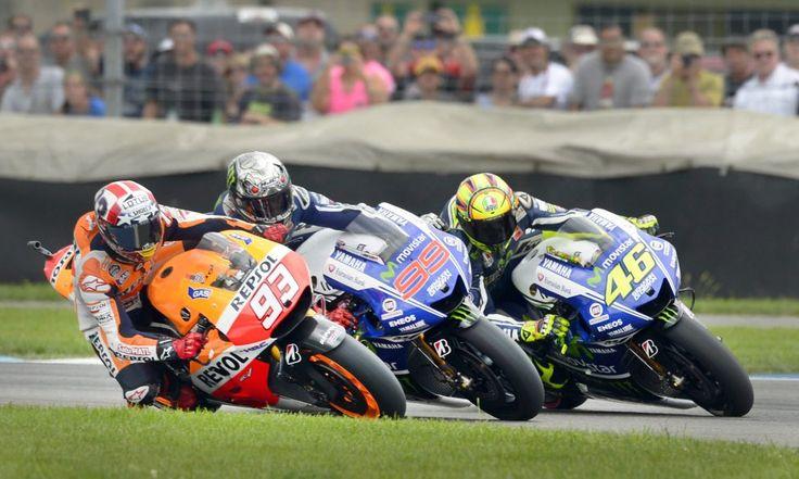 Марк Маркес, Хорхе Лоренсо, Гран-при Индианаполиса MotoGP, Валентино Росси