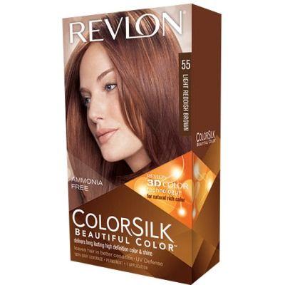 color silk tinte capilar nº 55 castaño rojizo claro