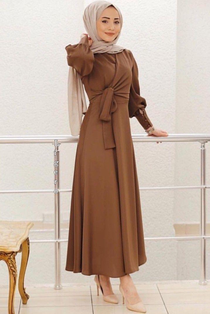 Tesettur Elbise Modelleri 2020 Tesettur Elbise Modelleri 2020 Fashion Muslim Fashion Hijab Fashion