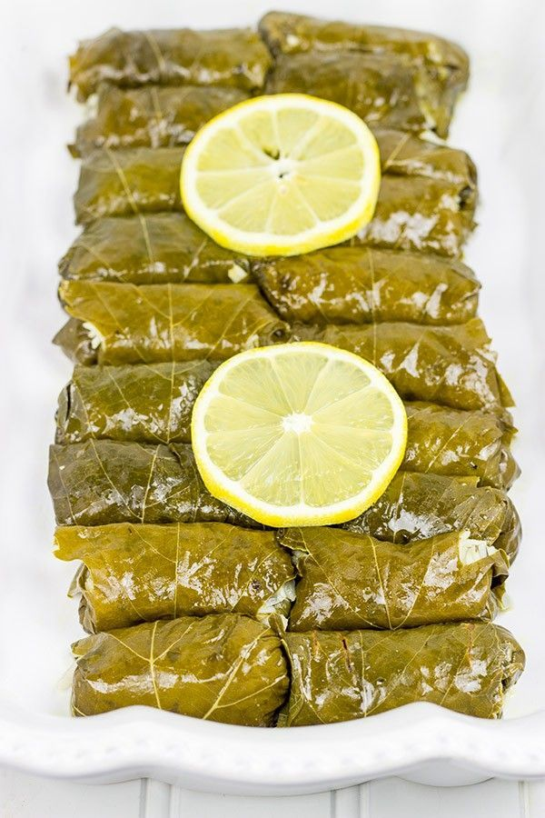 Filled with the flavors of lemon, dill and parsley, these Stuffed Grape Leaves are a fun way to enjoy classic Greek food at home! #EveryDayCare