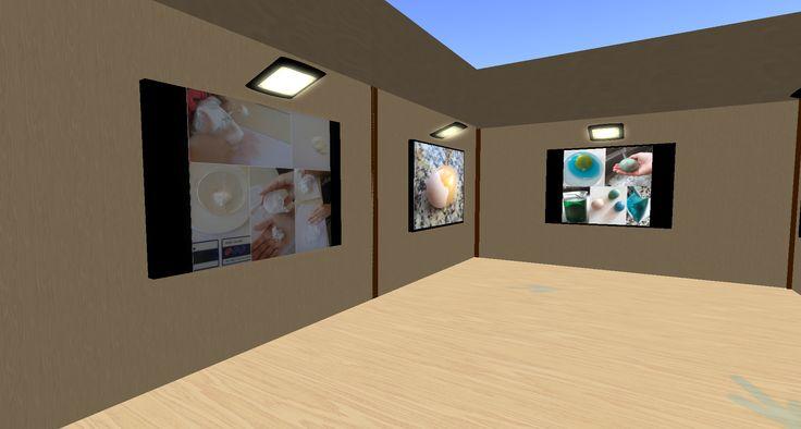 Exposició Virtual de l'assignatura Fem Recerca a l'Open Sim Virtual Touch