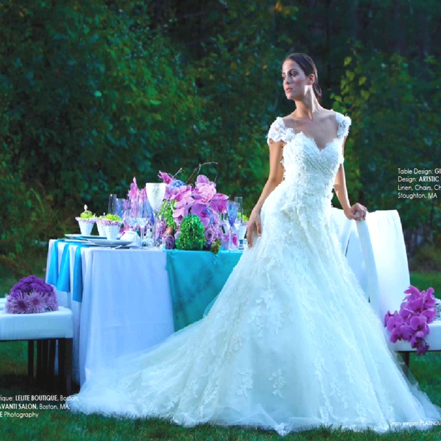 Elie Saab Platinum Weddings Magazine Spring Issue 2011