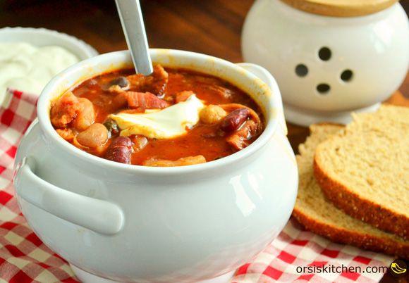 Jókai style bean soup/Jókai bableves