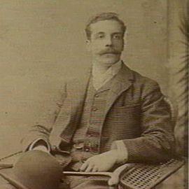 Portrait of Alister Clark