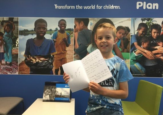What a great Fundraising story!  An 8 year old boy from Ferntree Gully has raised $250 for the Plan Australia South Sudan Food Appeal by selling his self published book about soccer. Go Mitchell!  https://www.plan.org.au/Our-Work/Blog/20141219-Kid-fundraiser-self-publishes-soccer-book.aspx