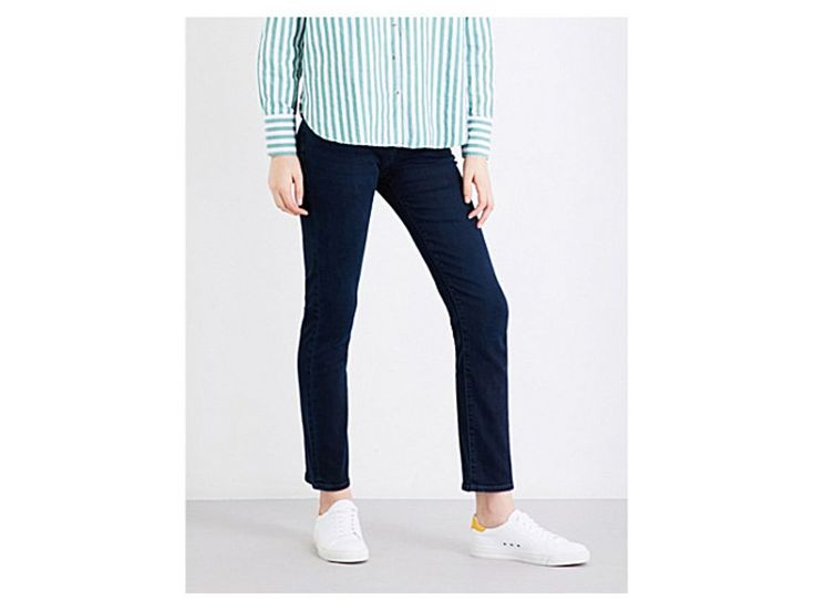 J BRAND Amelia ankle grazer mid-rise jeans