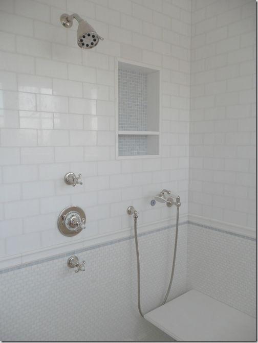 Shower Niche Master Bathroom Ideas Pinterest