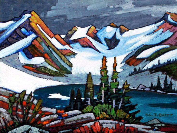 Nicholas Bott   OIL                       Coast Mountain Glacial