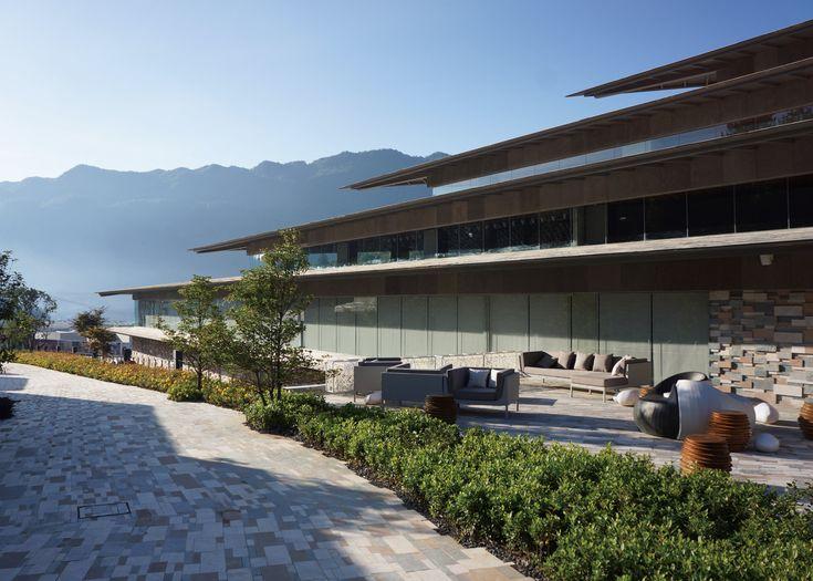 Yunfeng Spa Resort by Kengo Kuma Architects in Yunnan Province China