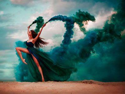 fotos com fumaça colorida - Pesquisa Google