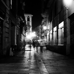 """(Chapter 16) After we walked back from the square and the lights were fading behind us, we started to walk toward the park. Brett asked if I still loved her, and of course I did. She assumed it was because it she was a goner. She said she was """"'mad about the Romero boy. [I'm] in love with him, [I] think' (Hemingway 187). I told her it wasn't a good idea. I knew it from the beginning."""