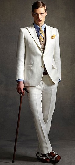 Brooks Brothers - Gatsby Style (this is one of my favorites of the collection.)