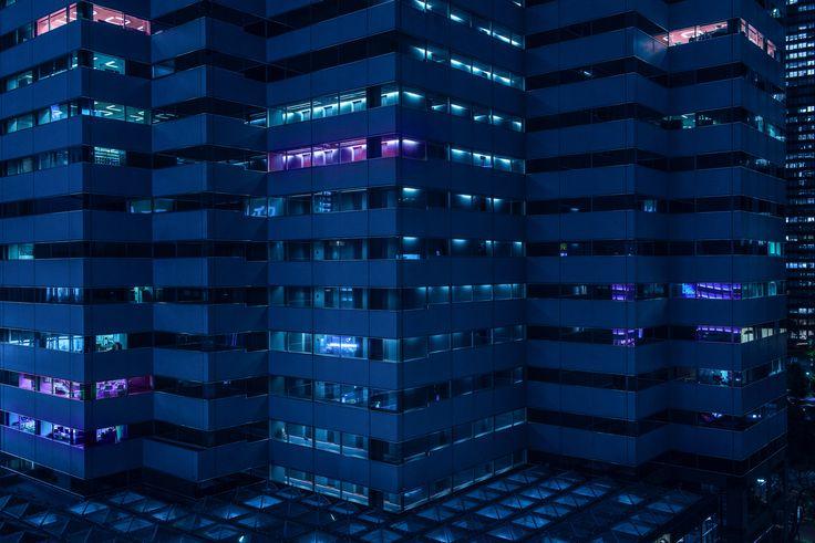 Blade Runner-style photographs capture Tokyo's infrastructure
