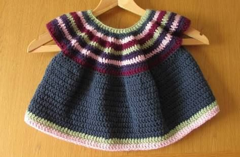 easy crochet dresses for toddlers - Google Search