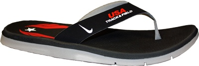 cute ..  Product image: Nike USATF Celso Solarsoft Thong Sandal  via usaf store