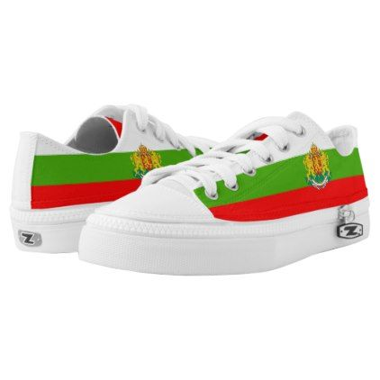 Bulgarian flag Low-Top sneakers - modern gifts cyo gift ideas personalize