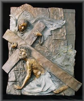 3 Third Station - Jesus fallsfor the first time :: Catholic News Agency