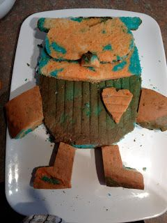 """Cooking For Busy Mums: """"HOOT THE OWL"""" 2D CAKE FROM GIGGLE AND HOOT ABC"""