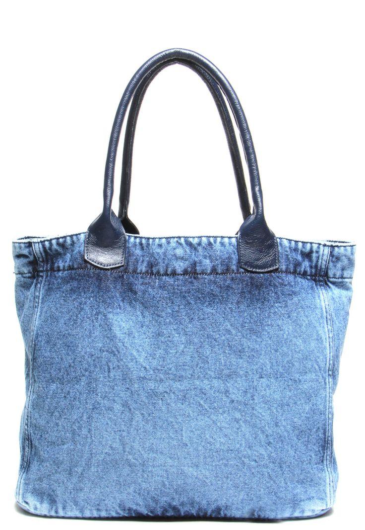 Bolsa Sacola Colcci Jeans Azul - Marca Colcci