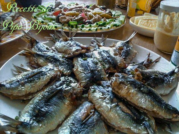 Sardines a la farce et l'huile d'olive au four - Amour de cuisine