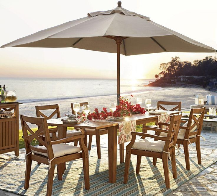 Outdoor Garden Furniture By Pottery Barn: 17 Best Images About Outdoor Living By Pottery Barn