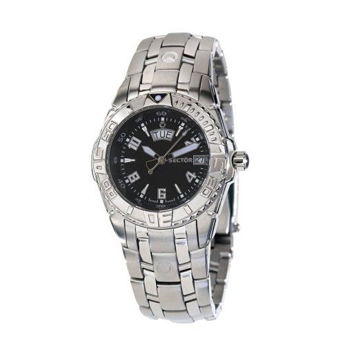 Sector - R2653650055 - 650 - Gents Watch - with Date - Analogue - Steel Strap