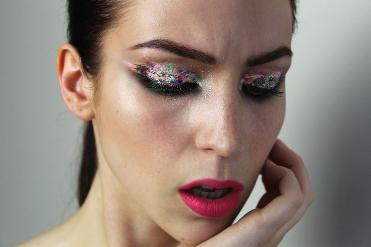 Participation au concours #fromEHtoLA de #nyxcanada ! :) Maquillage créé par Cynthia Dulude Thème : LA AfterParty