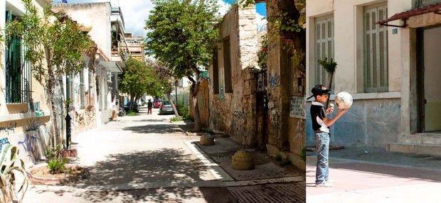 Desarrollo urbano en Atenas